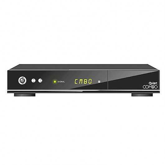 Receptor Sátelite Qviart Combo HD + Cable HDMI+REGALO MEMORIA 8GB